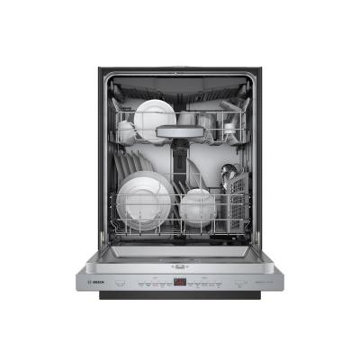 500 Series Top Control Tall Tub Pocket Handle Dishwasher in Stainless Steel with Stainless Steel Tub, AutoAir, 44dBA