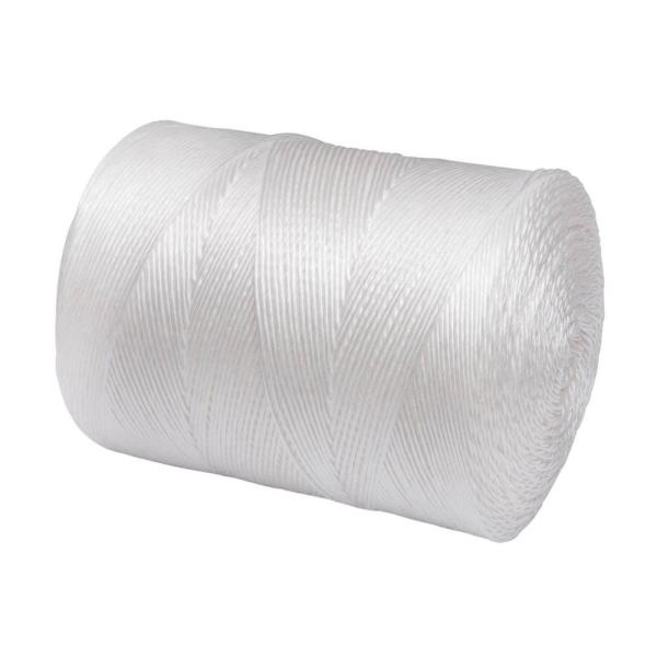 3/32 in. x 6500 ft. Polypropylene Twisted Utility Tying Twine, White