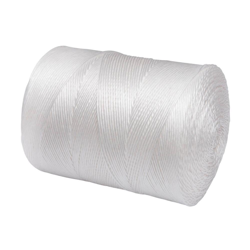 Everbilt 3/32 in. x 6500 ft. White Twisted Polypropylene ...