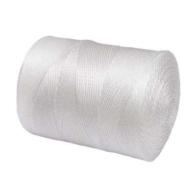 3/32 in. x 6500 ft. White Twisted Polypropylene Utility Tying Twine