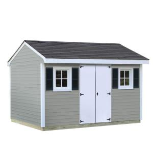 Sheds USA Installed Classic 8 ft. x 12 ft. Vinyl Shed by Sheds USA