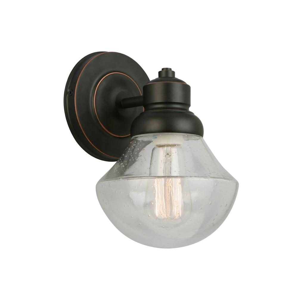 Sawyer 1 Light Oil Rubbed Bronze Wall Sconce