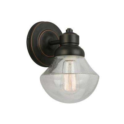 Sawyer 1-Light Oil Rubbed Bronze Wall Sconce