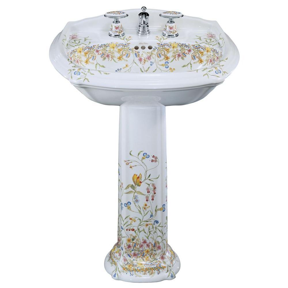 Kohler Portrait Vitreous China Pedestal Combo Bathroom