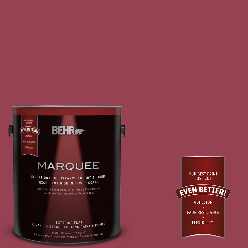 BEHR MARQUEE Home Decorators Collection 1-gal. #HDC-CL-04 French Rose Flat Exterior Paint