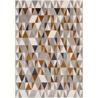 Vauxhall Burnt Orange 8 ft. x 10 ft. Area Rug