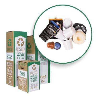 18 Gal. Coffee Capsules Recycling Containers Mail Back Zero Waste Boxes