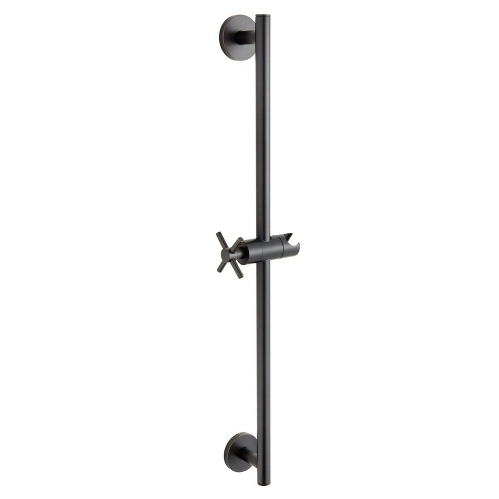Speakman Neo 24 in. Shower Slide Bar in Oil-Rubbed Bronze