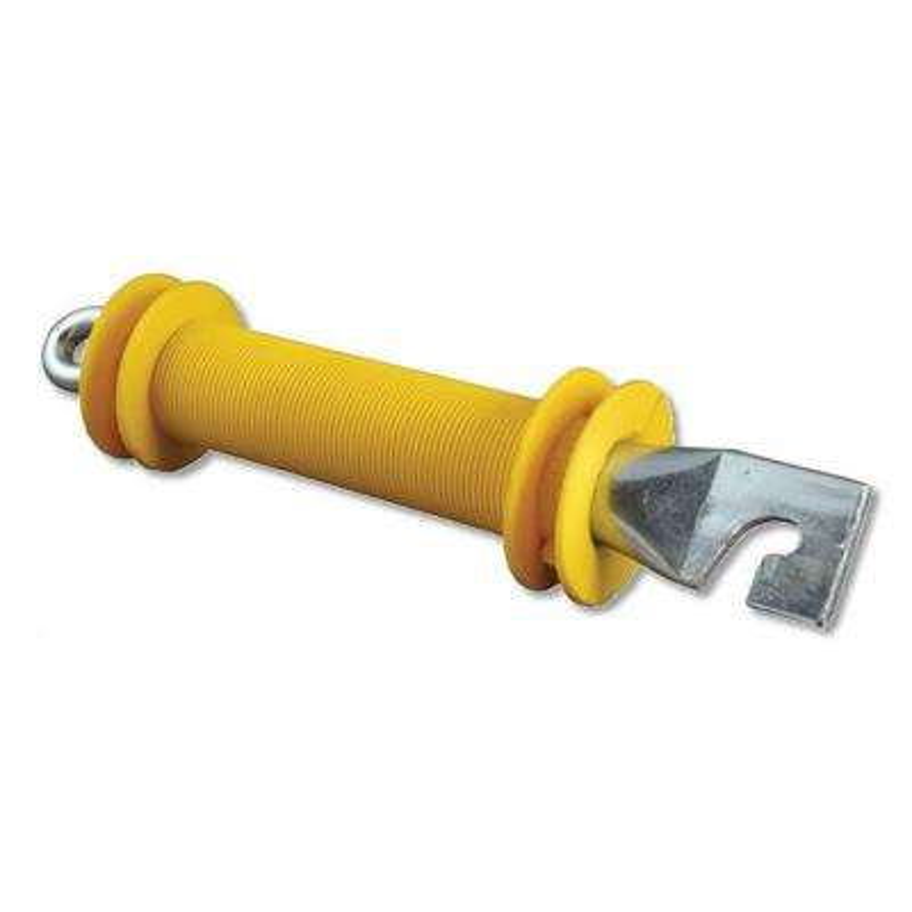Heavy-Duty Yellow Rubber Gate Handle
