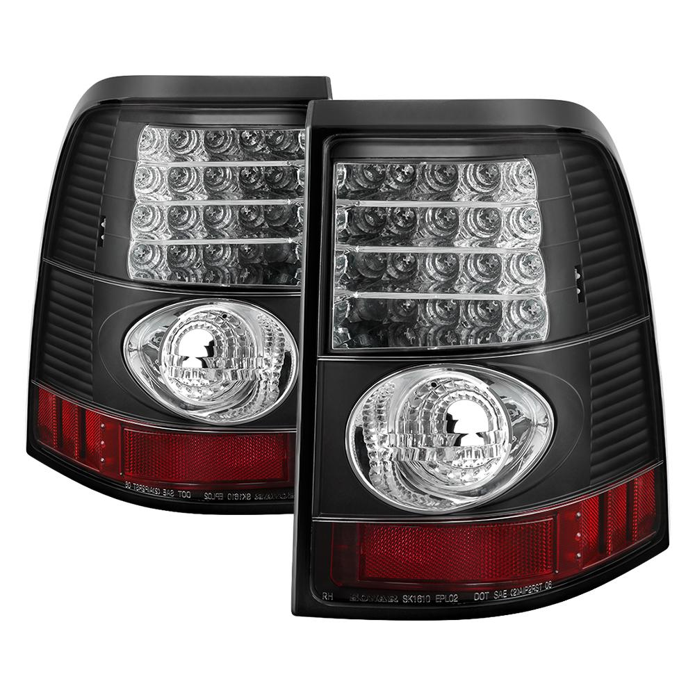 Spyder Auto Ford Explorer 4dr Except Sport Trac 02 05 Led Tail Lights Black