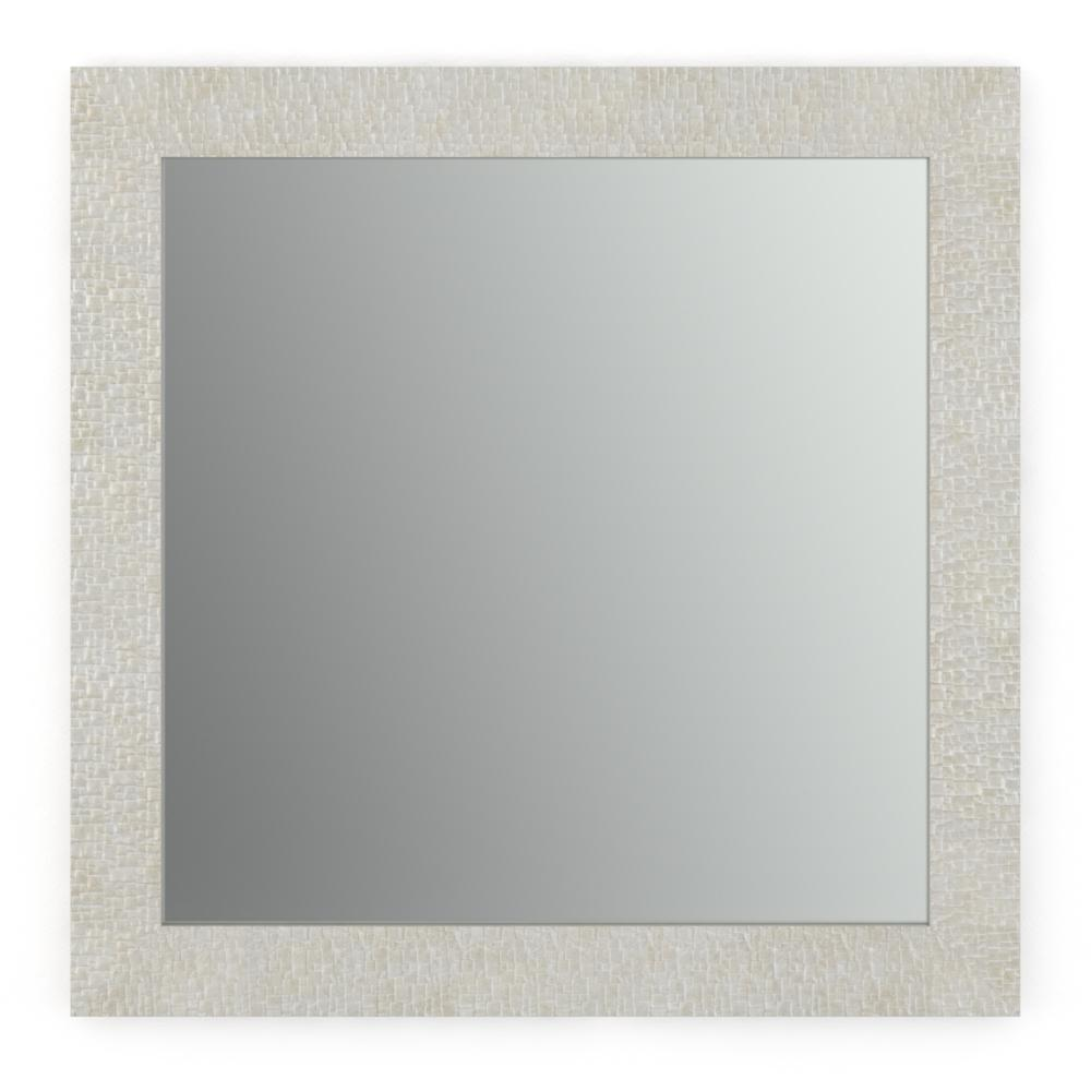 Delta 33 in. x 33 in. (L2) Square Framed Mirror with Standard Glass ...
