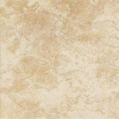 Continental Slate Persian Gold 12 in. x 12 in. Porcelain Floor and Wall Tile (15 sq. ft. / case)