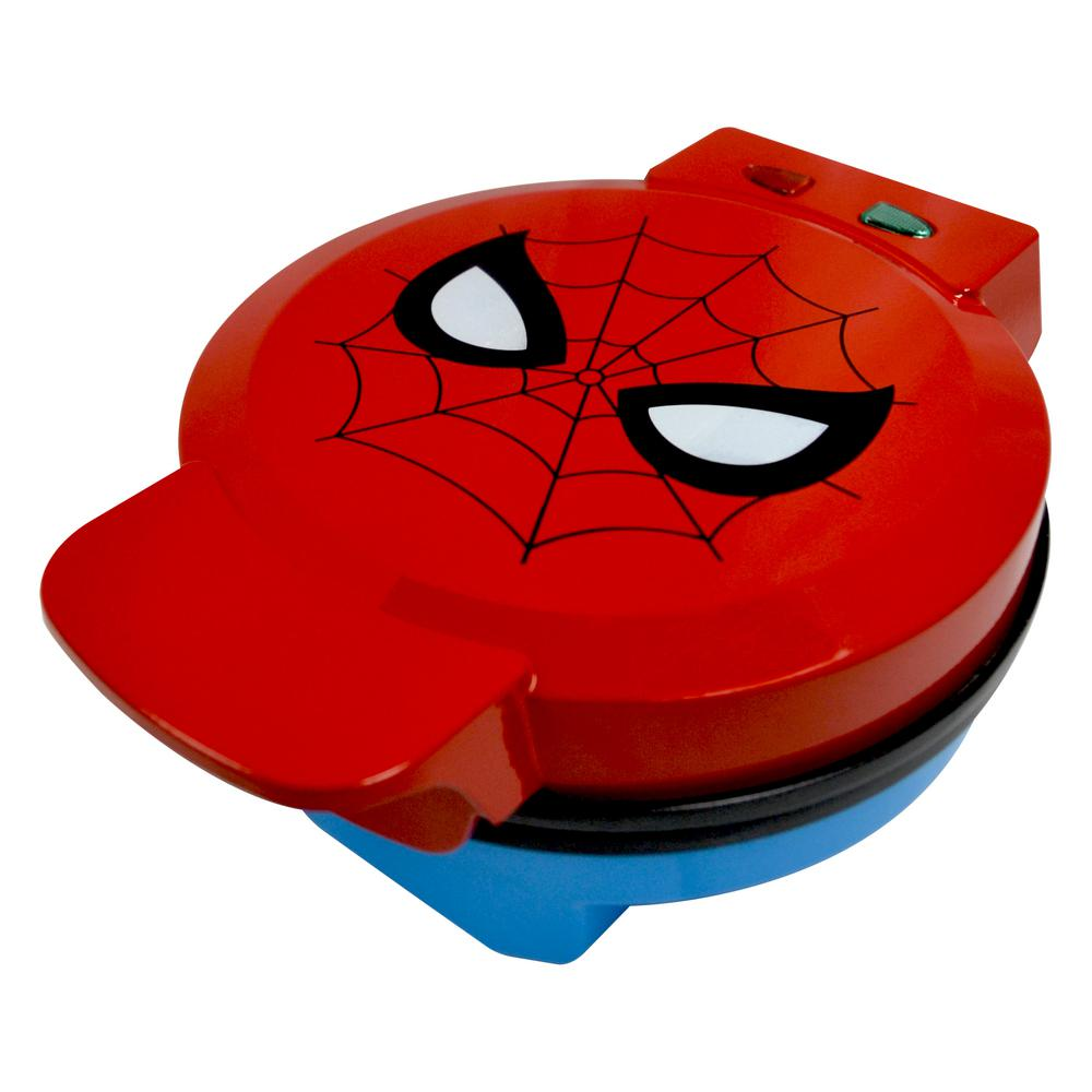 Uncanny Brands Marvel Classic Spiderman Red Waffle Maker Uncanny Brands Marvel Classic Spiderman Red Waffle Maker