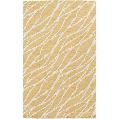 Arise Willa Light Yellow 8 ft. x 10 ft. Indoor Area Rug