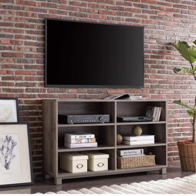 Barrisdale Gray Washed Farmhouse Media Console