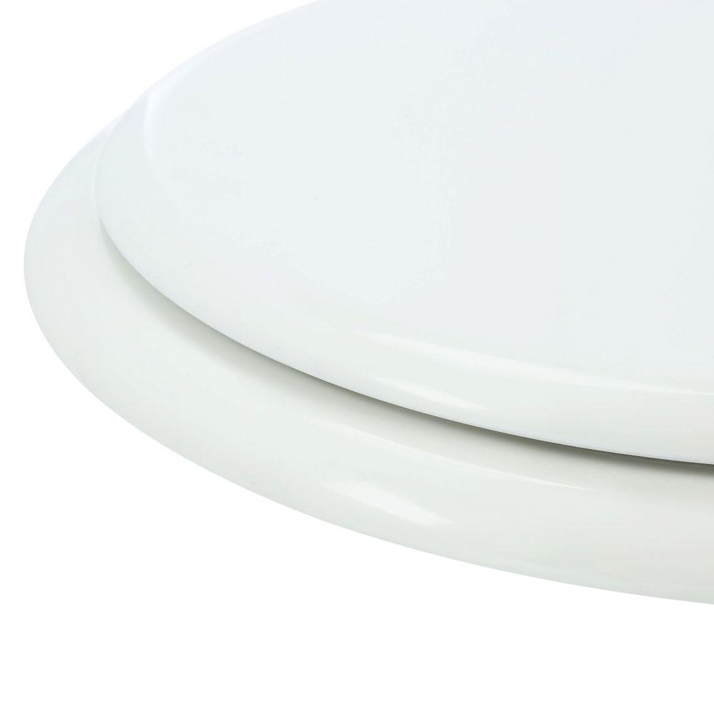 TOILET SEAT Front Round Closed Standard Replacement Wood