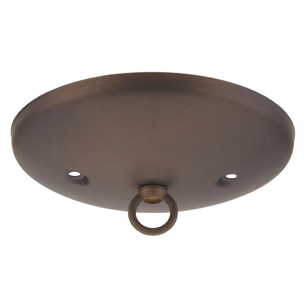 Westinghouse 5 in oil rubbed bronze modern canopy kit 7003800 the oil rubbed bronze modern canopy kit arubaitofo Images