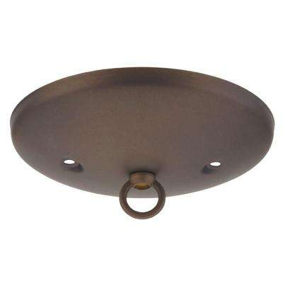 5 in. Oil Rubbed Bronze Modern Canopy Kit