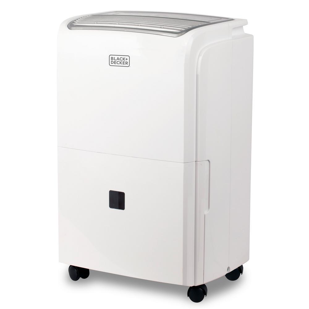 50-Pint Portable Dehumidifier