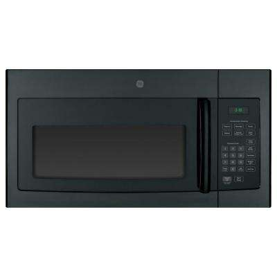 1.6 cu. ft. Over the Range Microwave Oven in Black