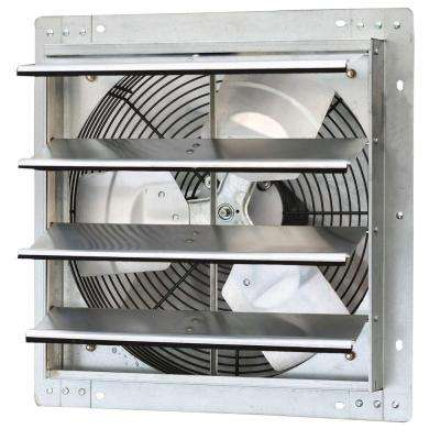 1280 CFM Power 16 in. Variable Speed Shutter Exhaust Fan