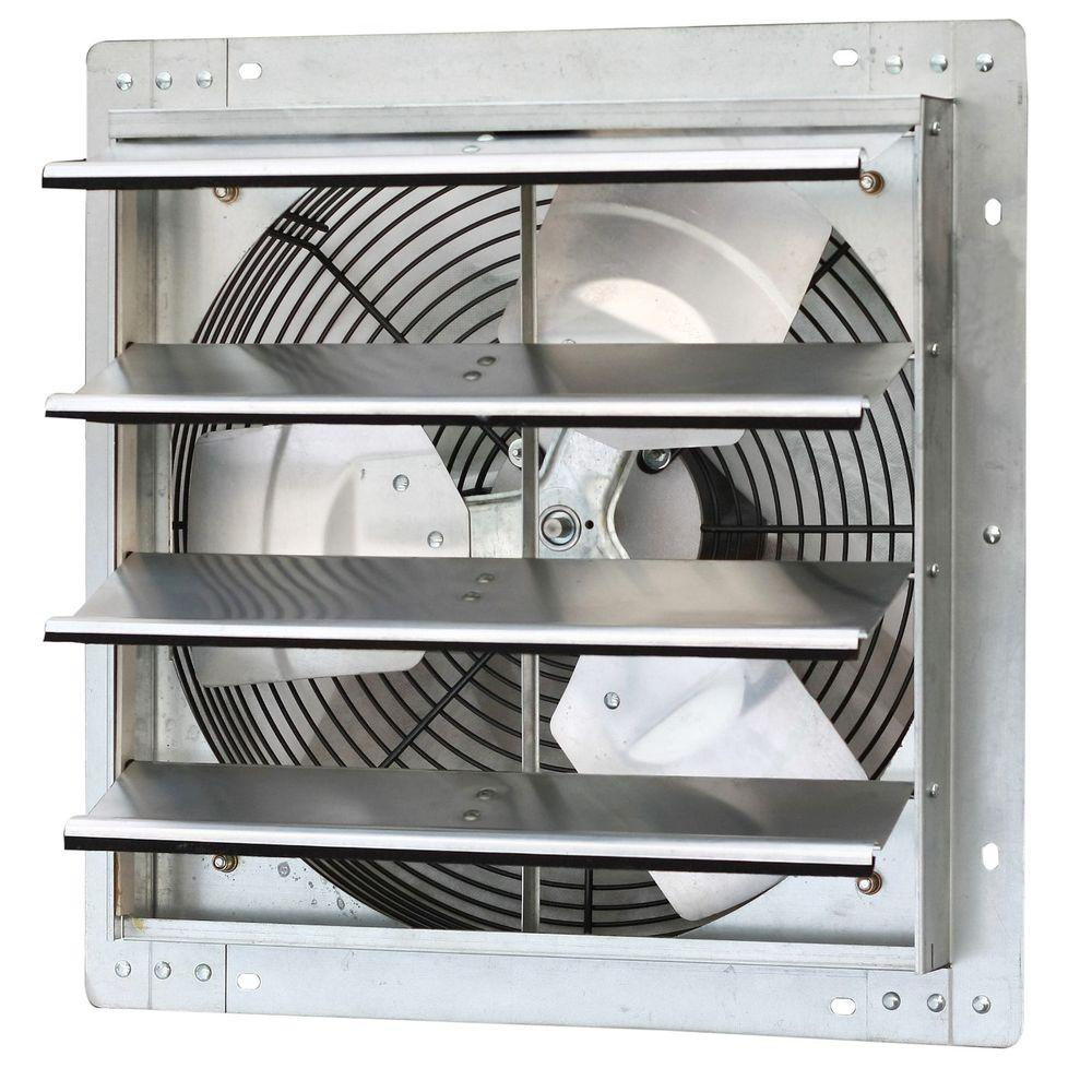 Strange Iliving 1280 Cfm Power 16 In Variable Speed Shutter Exhaust Fan Home Interior And Landscaping Eliaenasavecom