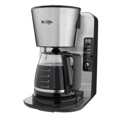 12-Cup Stainless Programmable Advanced Brew Coffee Maker