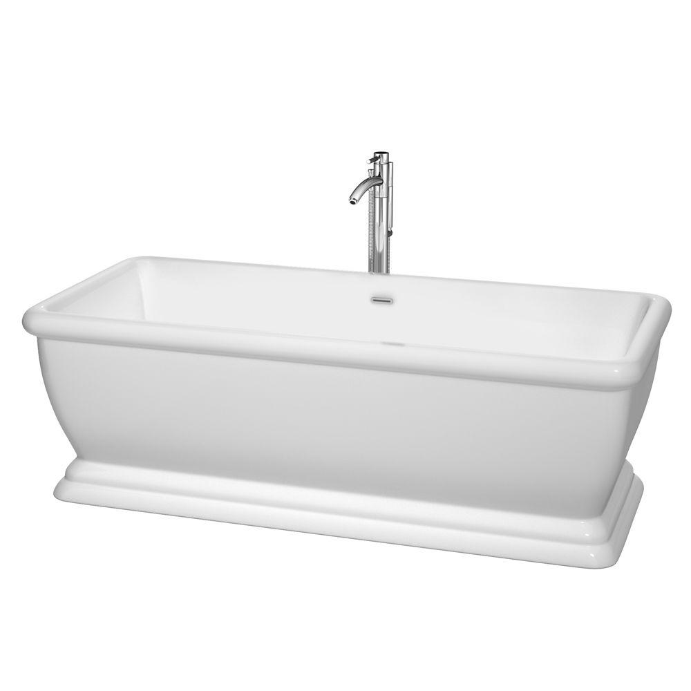 Wyndham Collection Candace 5 7 Ft Acrylic Classic