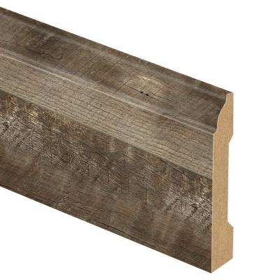 Radcliffe Aged Hickory 9/16 in. Thick x 3-1/4 in. Wide x 94 in. Length Laminate Base Molding