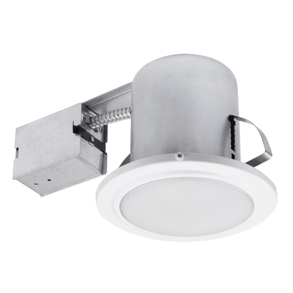 Globe Electric 5 In. White Recessed Shower Light Fixture