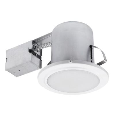 5 in. White Recessed Shower Light Fixture