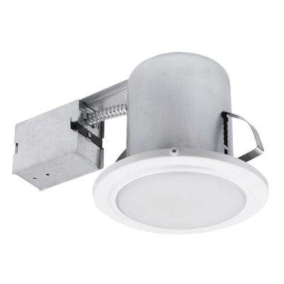 5 In White Recessed Shower Light Fixture
