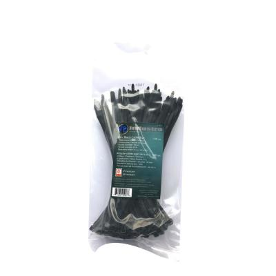 8 in. Black UV Cable Tie (100-Pack)