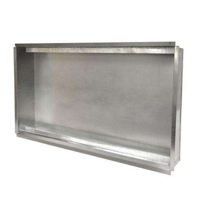 16 in. x 25 in. Return Air Box with Filter Rail