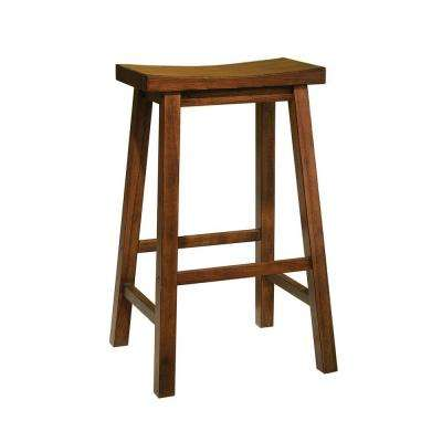 29 in. Honey Brown Bar Stool