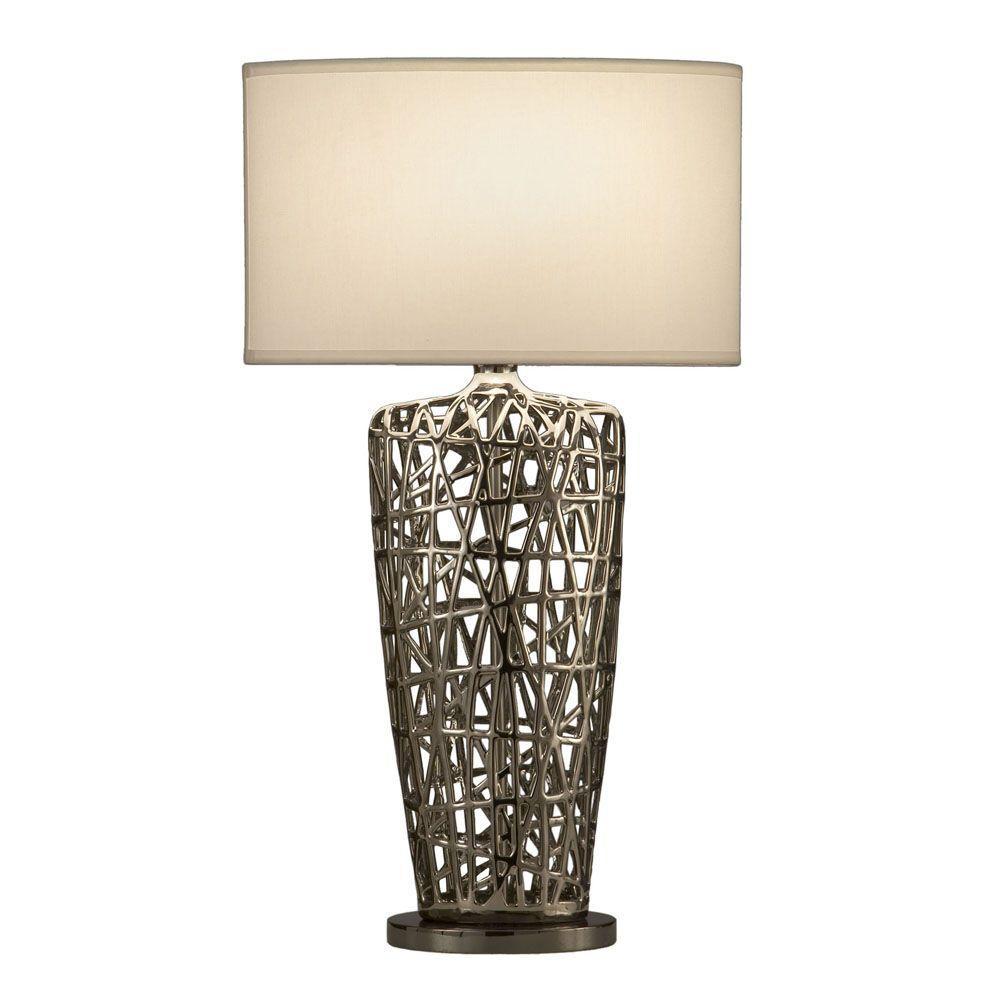 Birds Nest Heart Table Lamp