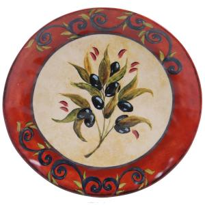 Certified International The Umbria Collection Round Platter by Certified International