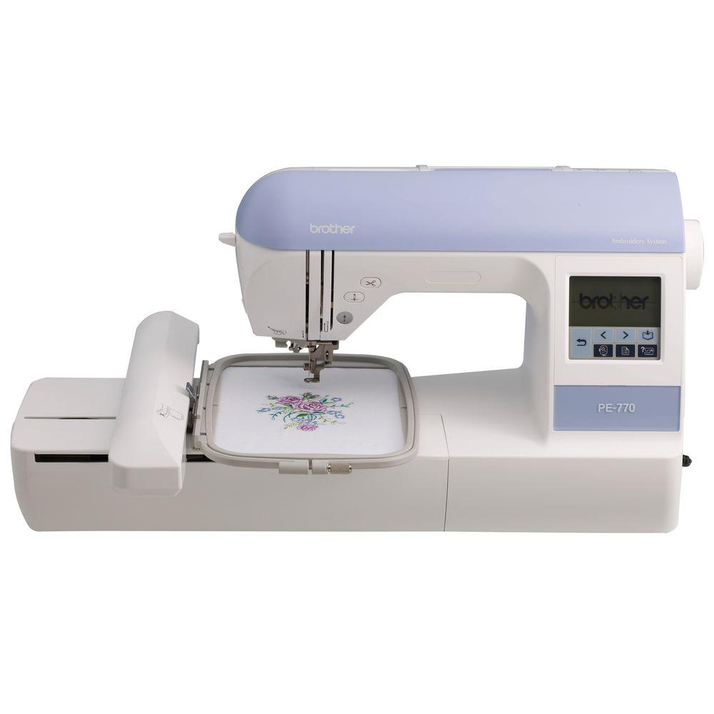 Brother Embroidery Machine With USB Port, White