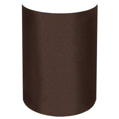 Aspen 1-Light Outdoor Chocolate Vein Wall Sconce