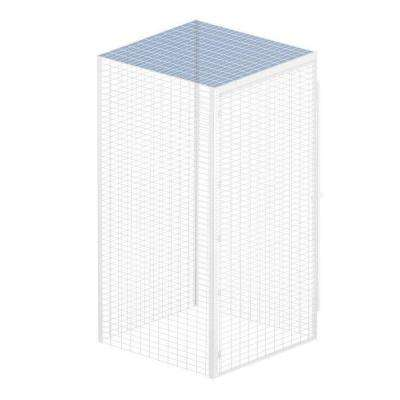 Storage Locker Option 36 in. W x 36 in. D x 0.5 in. H Wire Top for Bulk Storage Locker in Aluminum