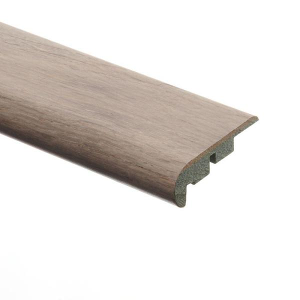 Maui Whitewashed Oak 3/4 in. Thick x 2-1/8 in. Wide x 94 in. Length Laminate Stair Nose Molding
