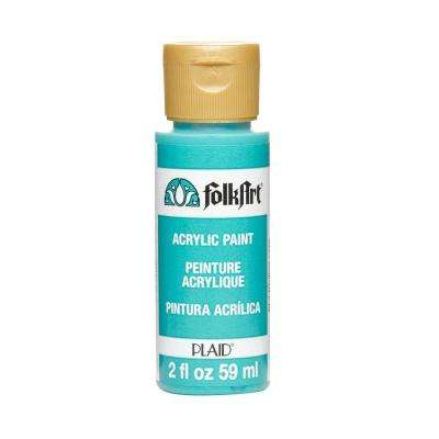 2 oz. Aqua Acrylic Craft Paint
