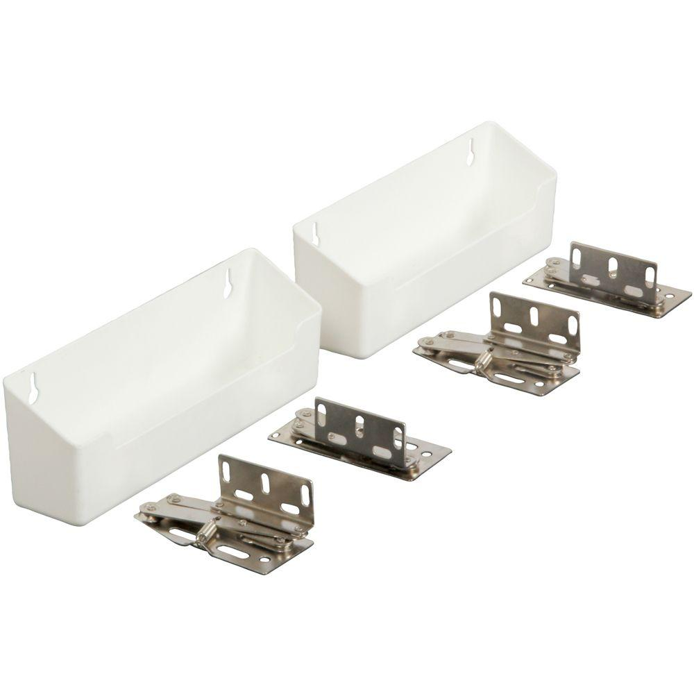 3 in. x 8.63 in. x 2 in. Polymer Sink Front