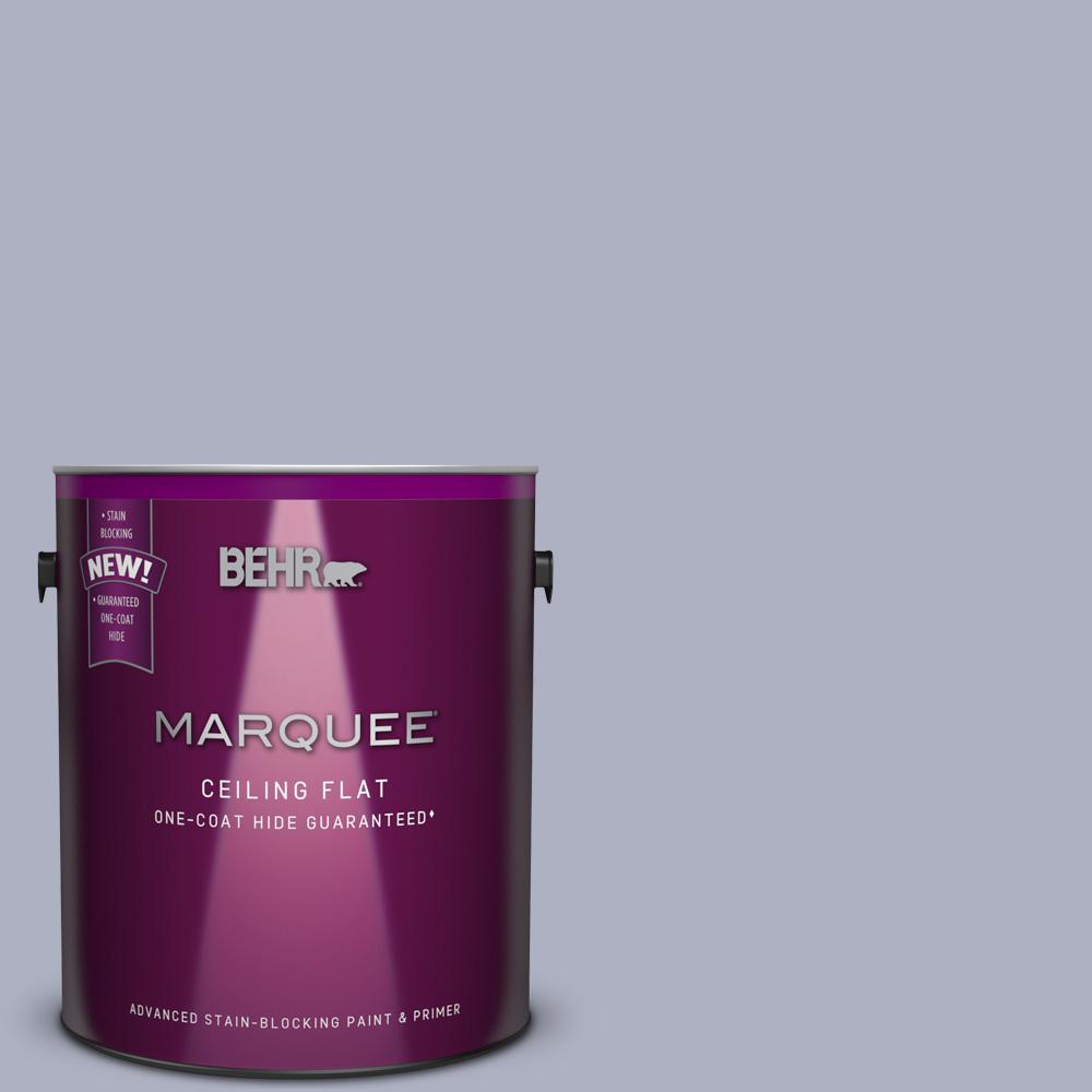 1 Gal. #S550-3 1-Coat Hide Tinted to Chivalrous Interior Ceiling Paint