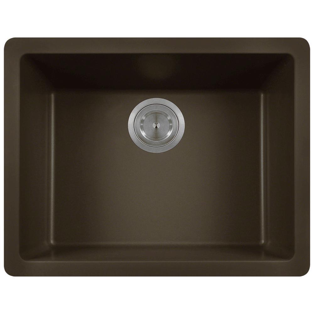 Acrylic Mocha Undermount Kitchen Sink