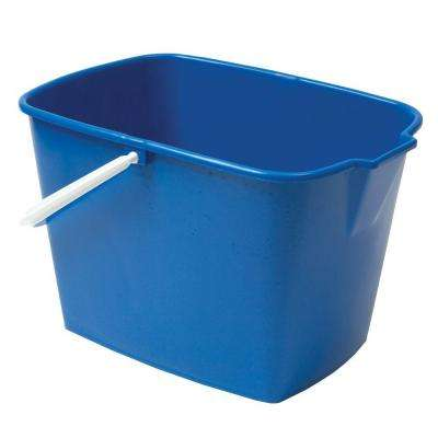 15 Qt. Heavy Duty Rectangular Utility Mop Bucket