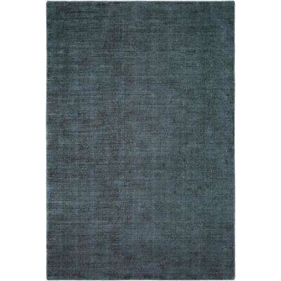 Bethasda Dark Blue 9 ft. x 13 ft. Area Rug