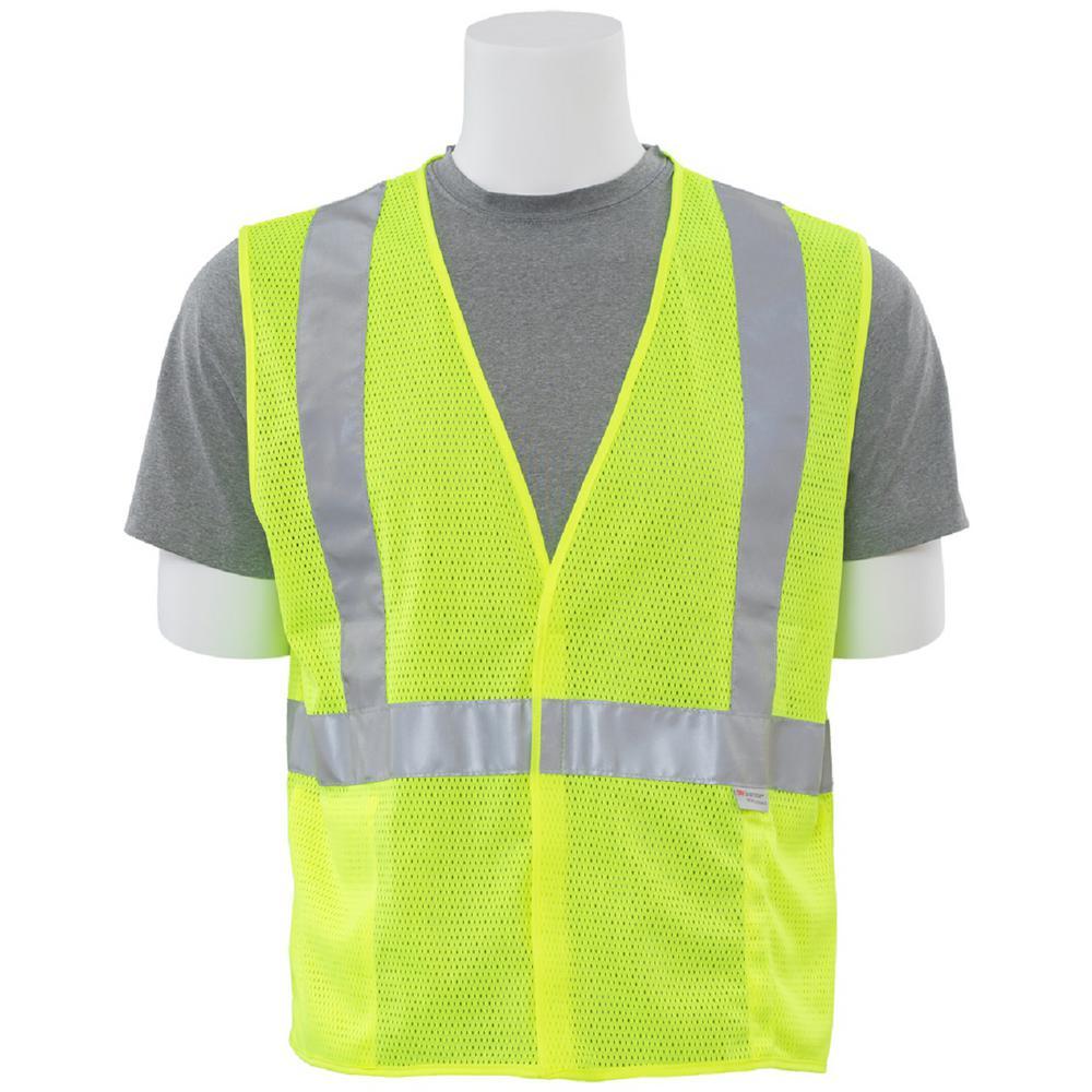 S15 2XL HVL Poly Mesh Safety Vest