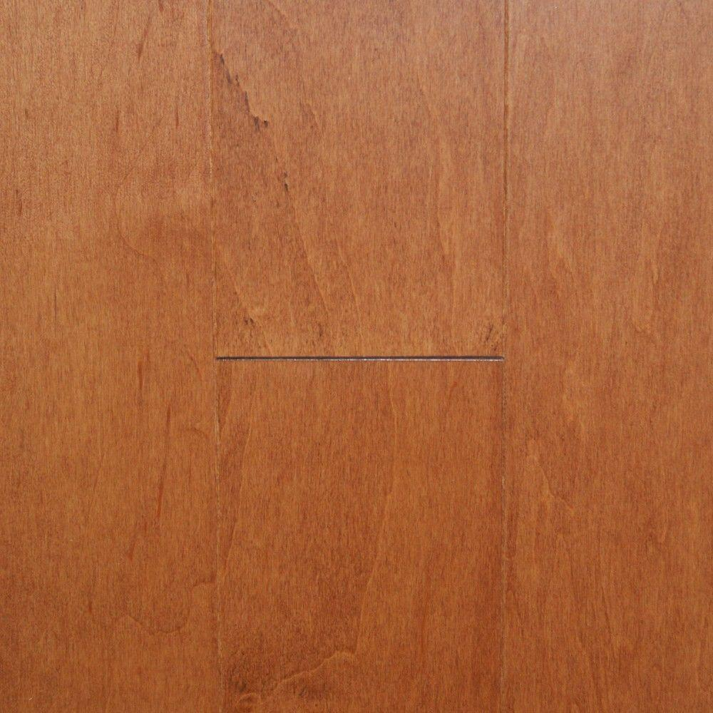 Millstead Maple Tawny Wheat 3/8 in. Thick x 4-1/4 in. Wide x Random Length Engineered Click Hardwood Flooring (20 sq. ft. / case)