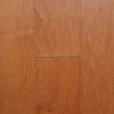 Maple Tawny Wheat 3/4 in. Thick x 4 in. Width x Random Length Solid Real Hardwood Flooring (21 sq.ft. /case)